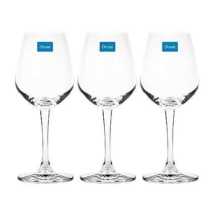 Ocean Lexington Red Wine Glass Set, 315ml, Set of 3