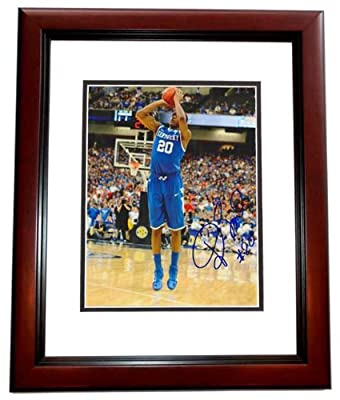 Doron Lamb Autographed / Hand Signed Kentucky Wildcats 8x10 Photo MAHOGANY CUSTOM FRAME - 2012 NCAA National Champions