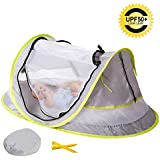 Sunnec Large Baby Camp Tent, UPF 50+ Sun Portable Baby...