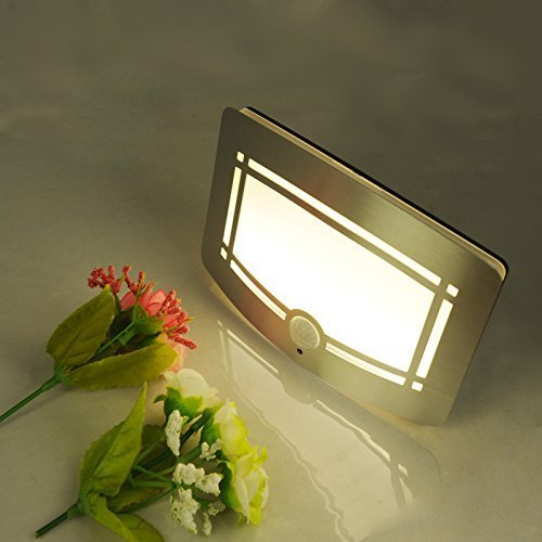 Fding LED Wall Light Light-operated Motion Sensor Nightlight Activated Battery Operated Wall Sconce by Fding (Image #5)