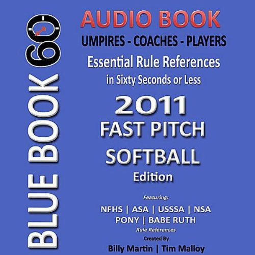 ASA, NSA, and Pony - 2011 Fastpitch Softball Rule Changes