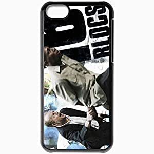 Personalized iPhone 5C Cell phone Case/Cover Skin 0 9 16 Blocks 9357 Black