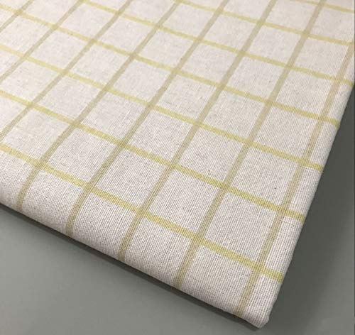 Fabric African| 50150CM Arrow Plaid Grid Linen Cotton Fabric for Tissue Kids Home Textile for Sewing Doll|by SAULLA -