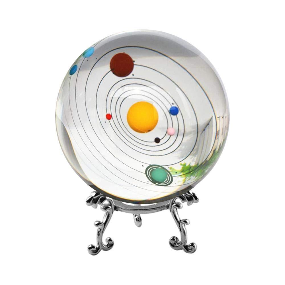 3D Solar System Kristallkugel mit Ständer klar Planet Planet Planet Educational Ball Cosmic Modell graviert Glaskugel Bürodeko B07KPDN4DZ | Neu  0e1eb2