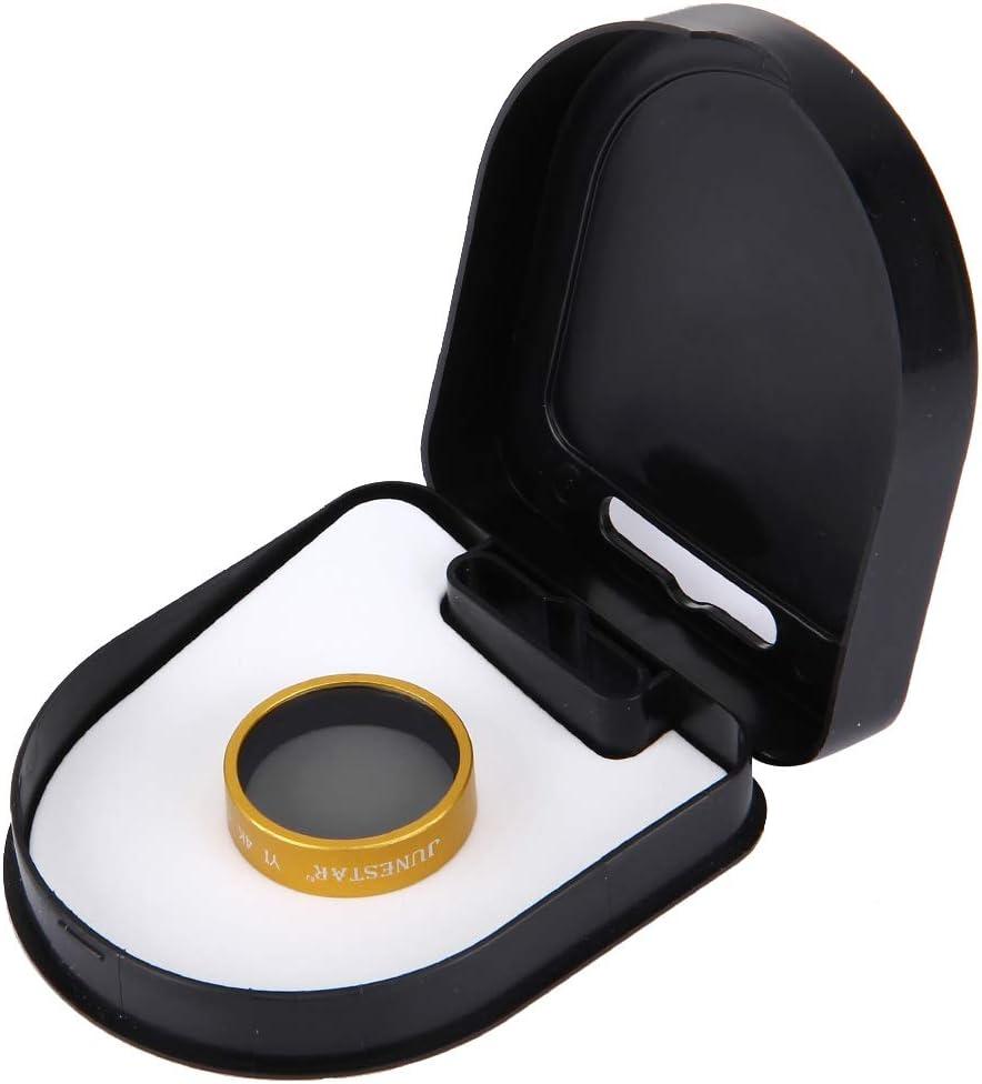 Color : Gold Gold Yangjingya Lens Accessories JUNESTAR for Xiaomi Xiaoyi Yi II 4K Sport Action Camera Proffesional CPL Filter