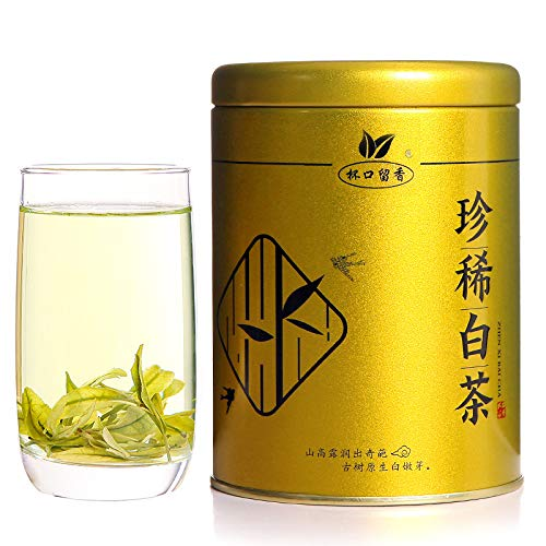 Rare White Tea 30g Anji Native Spring Tea White Tea Green Tea by BeiKouLiuXiang/杯口留香