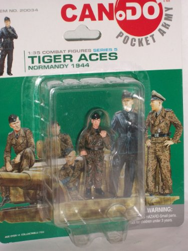 Used, Can Do Pocket Army Tiger Aces Series 5 Figure B 1:35 for sale  Delivered anywhere in USA