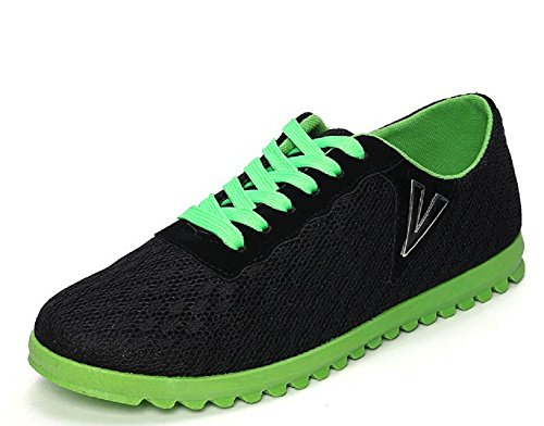 Weight Hanxue Walking Shoes Casual Athletic Light Men's Sneakers Net Comfortable Black Running FFq4AErw