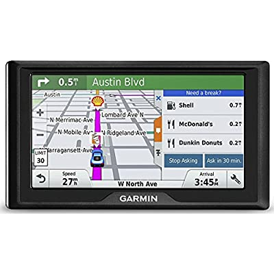 Garmin Drive 60 USA LM GPS Navigator System with Lifetime Maps, Spoken Turn-By-Turn Directions, Direct Access, Driver Alerts, and Foursquare Data