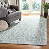 Cheap Safavieh Evoke Collection EVK242C Vintage Ivory and Light Blue Area Rug (4′ x 6′)