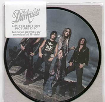 The Darkness Love Is Only A Feeling Picture Disc Amazoncom Music
