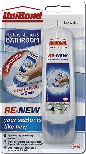 UniBond RE-NEW silicone sealant, White