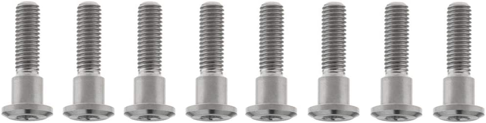 M8x22mm, Rainbow Yaruijia Titanium Bolt M8x20//22//30//33mm Allen Head Screws for Motorcycles Parts Pack of 8
