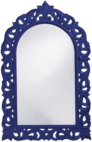 Howard Elliott 2058RB Orleans Mirror, Glossy Royal Blue