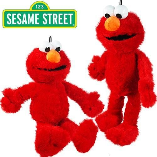 Sesame Street Elmo Stuffed Animal, 15 inches Set of 1 Elmo plush (Sesame Street Stuffed Animals)