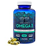 Omega 3 Fish Oil in Triglyceride Form - 180 1000mg Softgels - Triple Strength Burpless Lemon Flavored Ultimate Supplement Pills (90 day supply) Best High potency, 620 mg DHA, 820 mg EPA per serving
