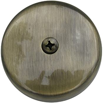 Simpatico 31595a Bath Tub Overflow Plate With Screws Of 1
