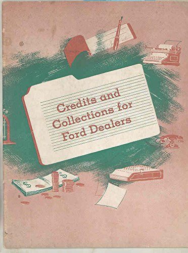 1941 1942 Ford Credit And Collections For Ford Dealer Accounting Brochure