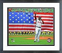 "David Ortiz Boston Red Sox MLB Action Photo (Size: 12.5"" x 15.5"") Framed"