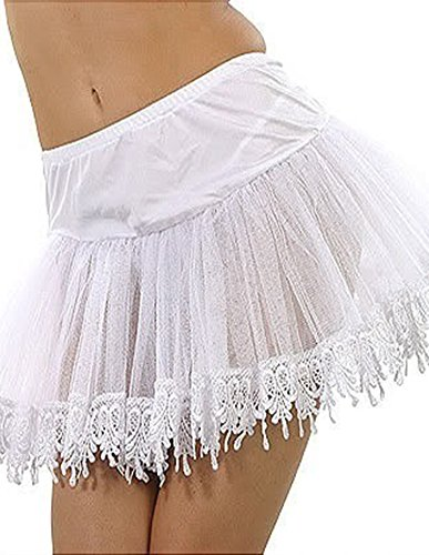 Teardrop White Petticoat (Special Petticoat with Teardrop)