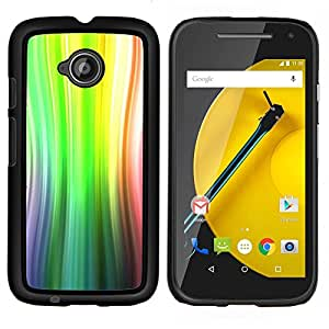 Stuss Case / Funda Carcasa protectora - Abstract Lines Sun - Motorola Moto E ( 2nd Generation )
