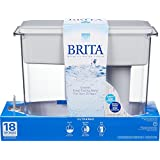Brita UltraMax Water Filter Dispenser, Grey, 18 Cup