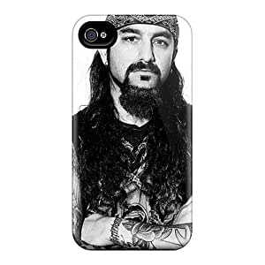 Iphone 4/4s NLS16502VMQJ Provide Private Custom Colorful Avenged Sevenfold Band A7X Pattern Bumper Hard Cell-phone Case -AshleySimms