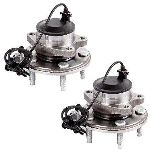 ECCPP Pair of 2 New Complete Front Wheel Hub Bearing Assembly 5 Lugs W/ABS for 2000-2008 Jaguar 513169x2 by ECCPP