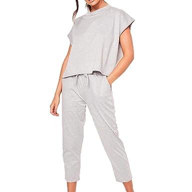 Zhuotop Direct - Pantalón de Traje - para Mujer Gris Gris ...