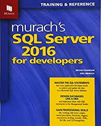 Image of the product Murachs SQL Server 2016 that is listed on the catalogue brand of .