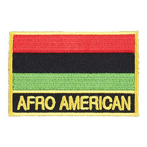 Afro American Flag Patch, Country Flag ()