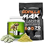 Image of Gorilla Max Protein Muscle Supplement for Dogs (Muscle Building Combo Pack)