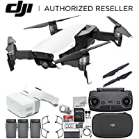 DJI Mavic Air Drone Quadcopter (Arctic White) + DJI Goggles FPV Headset VR FPV POV Experience Ultimate Bundle