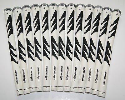 13 New UST Mamiya Comp DV Golf Grips - Mens Standard White