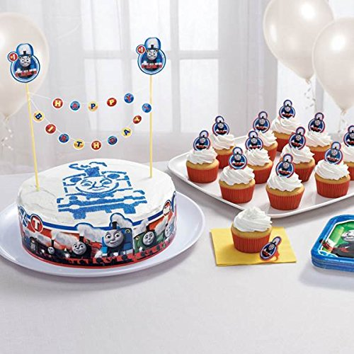 Shindigz Thomas the Train All Aboard Cake Decorating Kit (Cake Thomas Decorations Train)