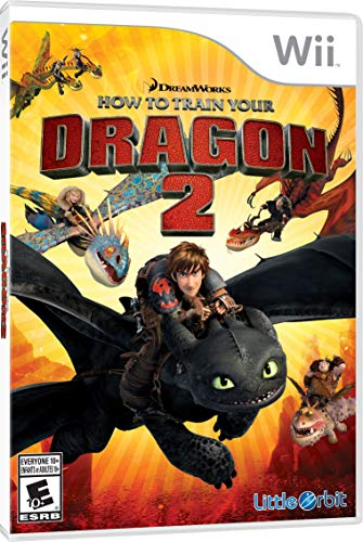 How to Train Your Dragon 2: The Video Game - Wii (Renewed) (Wii Train Dragon)