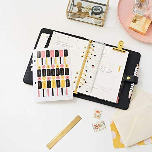 Planner personal. Negro. A5