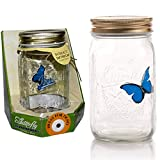 My Butterfly Collection - Animated Butterfly in a Jar - Blue Morpho