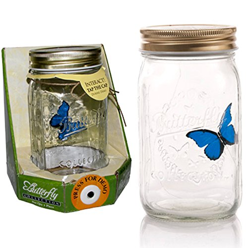 (My Butterfly Collection - Animated Butterfly in a Jar - Blue)