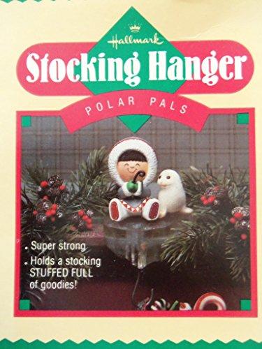 (Hallmark Polar Pals 1985 Frosty Friends Eskimo Seal Fishing Stocking)