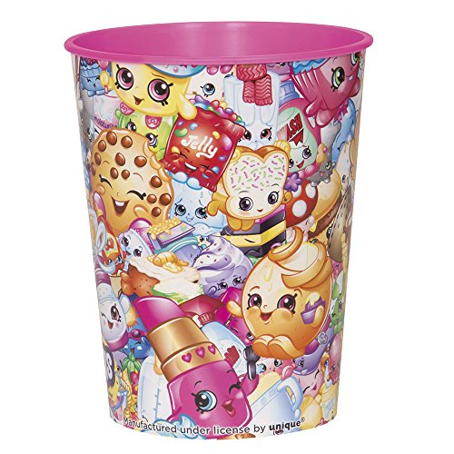16oz Shopkins Collection Plastic Cup