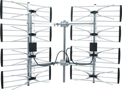 B00ACDDXQ8 Homevision Technology ANT7293 Electronic Master Multidirectional Digital HDTV Outdoor TV Antenna, Silver 51bagN9ai7L.