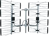 Electronic Master ANT7293 Multidirectional Digital HDTV Outdoor TV Antenna, Silver