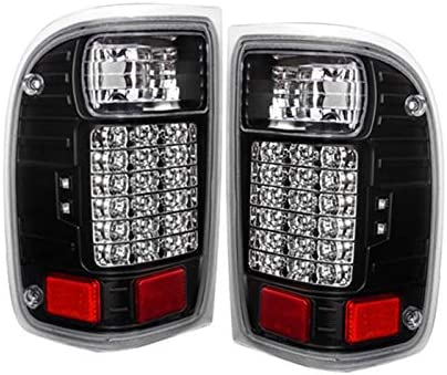 Winjet OE Factory Fit For 1997-2002 Ford Expedition Brake Tail Lights Black