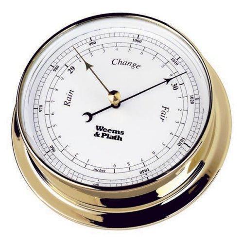 Weems & Plath Endurance Collection 125 Barometer (Chrome)