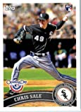 2011 Topps Opening Day Baseball Rookie Card IN SCREWDOWN CASE #31 Chris Sale Mint