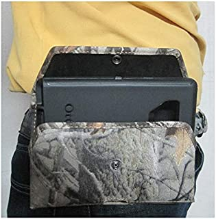 product image for Camouflage Turtleback Extended Vertical Heavy Duty, Rugged Holster Pouch for Galaxy S10+ Plus Otterbox Defender/Commuter Case On Device (Camo-Sideways)