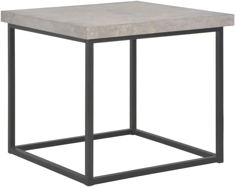 Mesa de café, Mesa de salón Mesa de café con Patas de Acero para salón y Dormitorio, Mesa Baja de salón, 55 x 55 x 53 cm: Amazon.es: Hogar