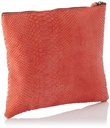 Sous les Pavés Sunrise Petit - Bolso de mano para mujer Rojo - rojo