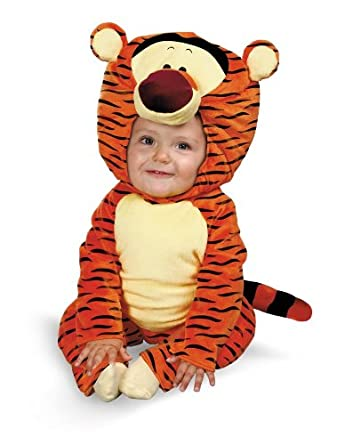297b78ecd265 Amazon.com  Tigger Winnie The Pooh Toddler Costume (3T-4T)  Clothing